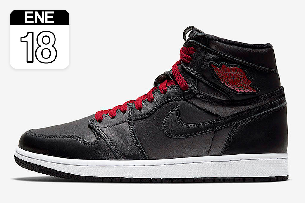 "Nike Air Jordan 1 High ""Satin Black"""