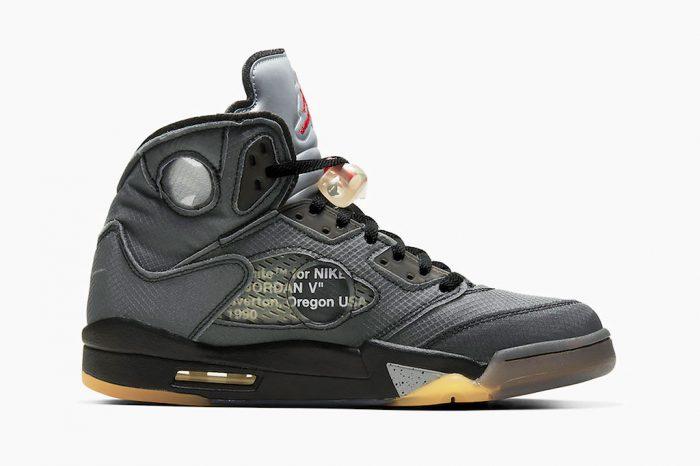 Off-White x Nike Air Jordan 5 | CT8480-001