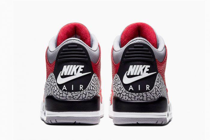 """Nike Air Jordan 3 """"Red Cement""""   CK5692-600"""