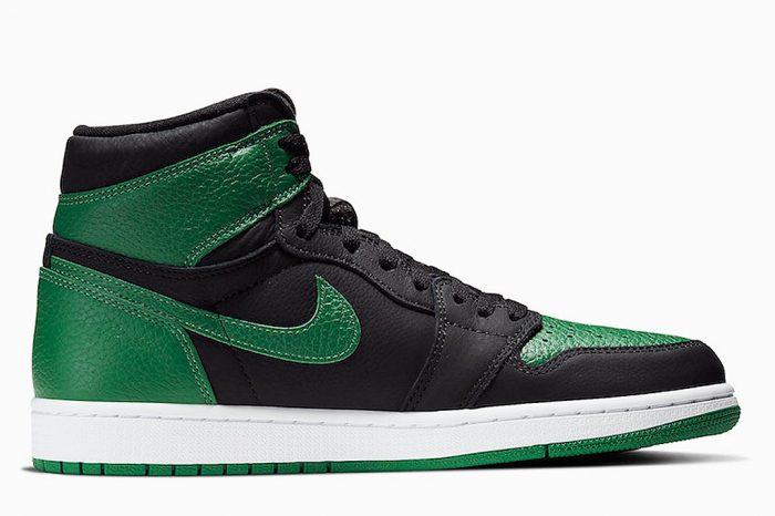 "Nike Air Jordan 1 High OG ""Pine Green"" | 555088-030"
