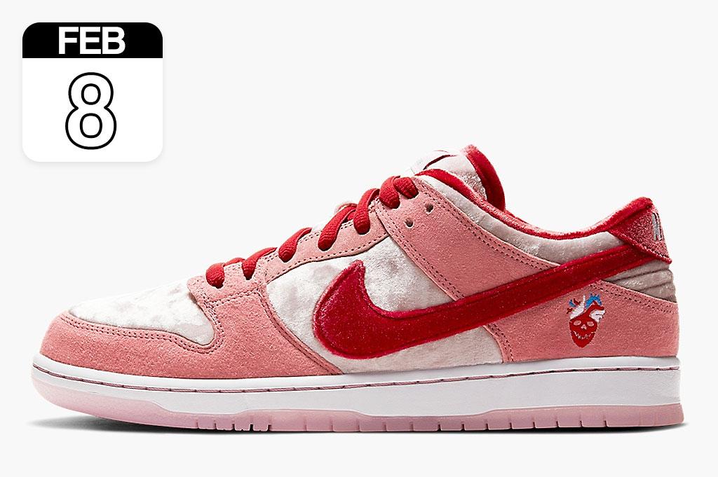"""StrangeLove x Nike SB Dunk Low """"Valentine's Day""""   CT2552-800"""