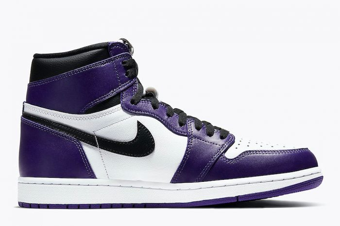 "Nike Air Jordan 1 High ""Court Purple"" 