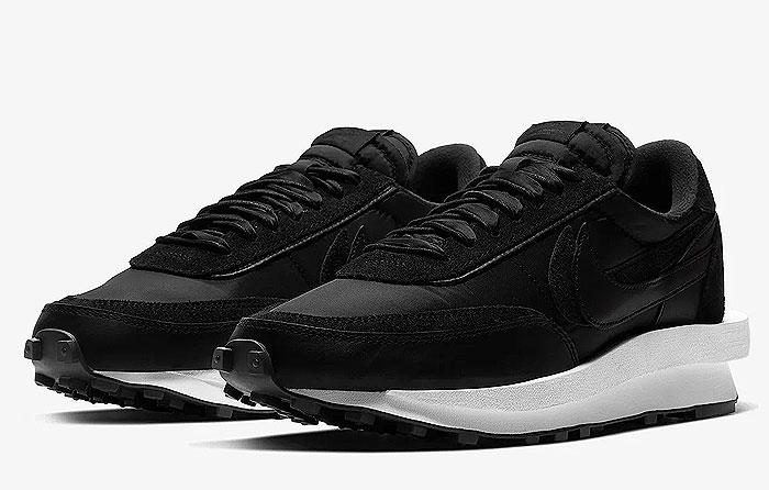 "Sacai x Nike LDWaffle ""Black Nylon"" | Bv0073-002"