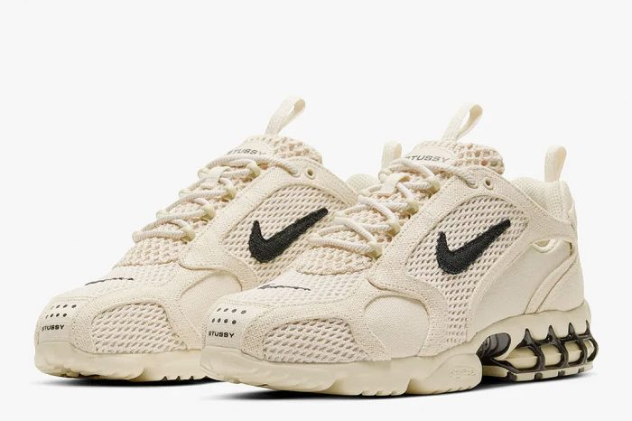 "Stussy x Nike Air Zoom Spiridon Cage 2 ""Fossil"" 