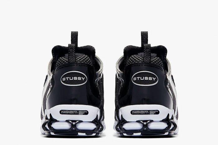"Stussy x Nike Air Zoom Spiridon Cage 2 ""Pure platinum"" | CU1854-001"