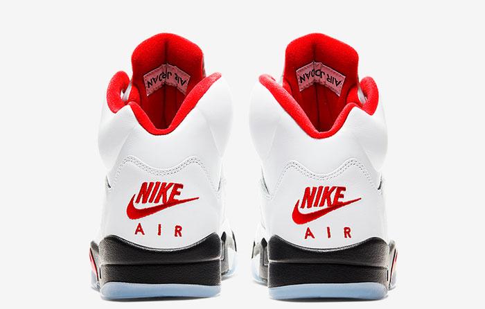 "Nike Air Jordan 5 ""Fire Red"" DA1911-102"