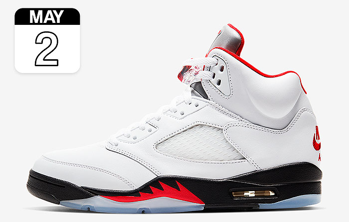 "Nike Air Jordan 5 ""Fire Red"""