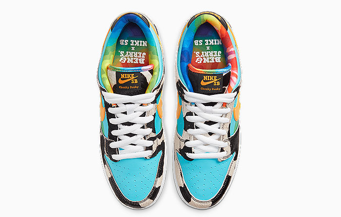 "Ben & Jerry's x Nike SB Dunk Low ""Chunky Dunky"" 