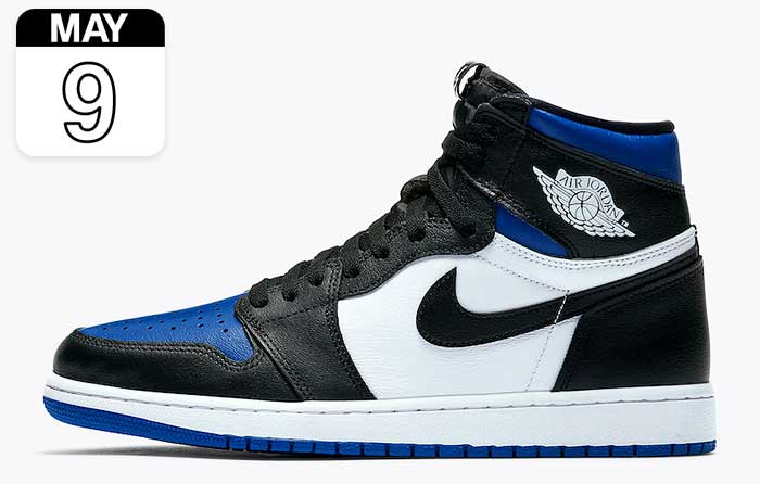 "Nike Air Jordan 1 ""White Royal"""