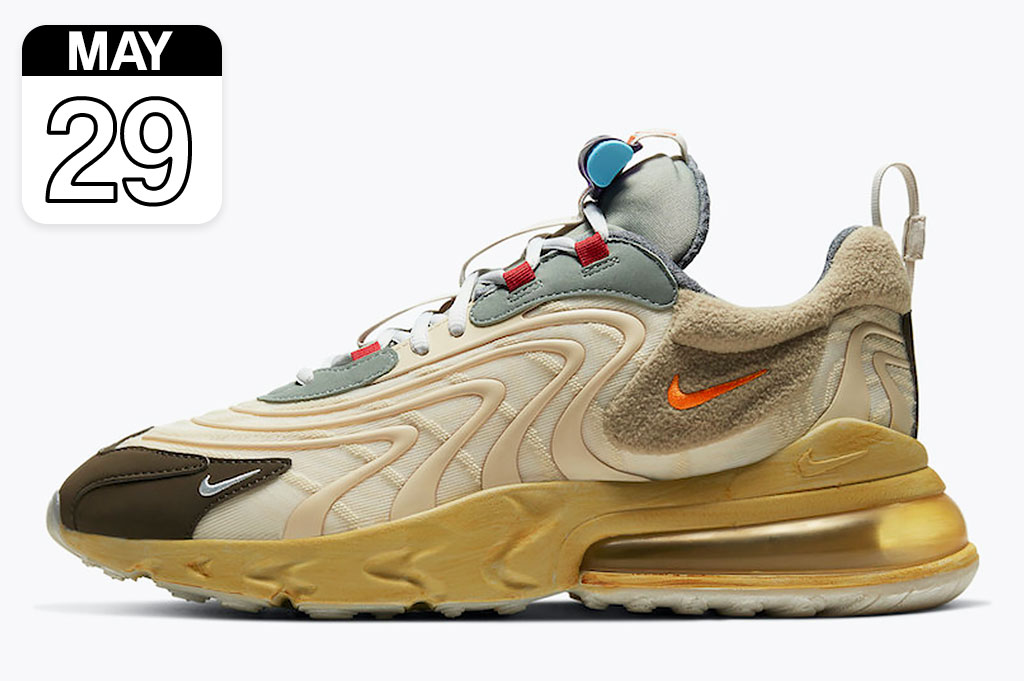 "Travis Scott x Nike Air Max 270 React ""Cactus Trails"" 