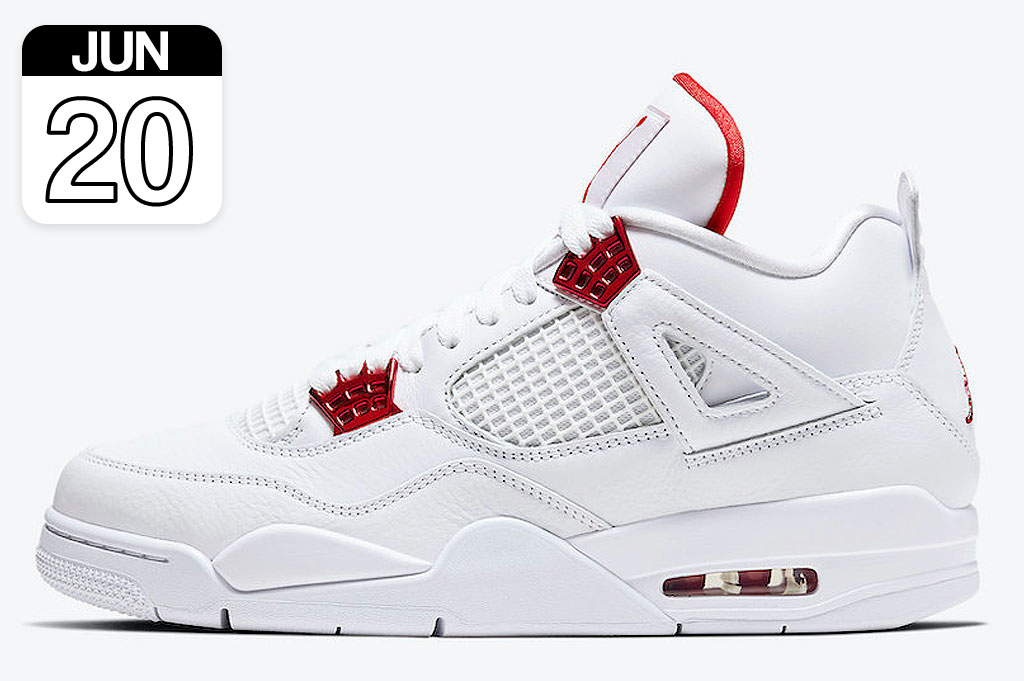 "Nike Air Jordan 4 Retro ""Metallic Red"" 