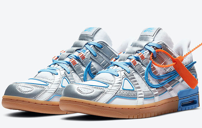 "Off-White x Nike Air Rubber Dunk ""University Blue"" 