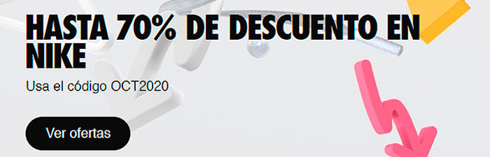 Nike descuento 70