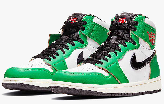 "Nike Air Jordan 1 High OG WMNS ""Lucky Green"" | DB4612-300"