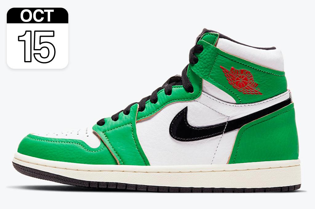 "Nike Air Jordan 1 High ""Lucky Green"""