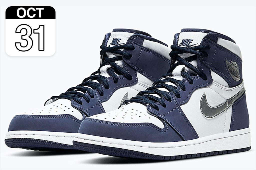 "Nike Air Jordan 1 High OG CO.JP ""Midnight Navy"""