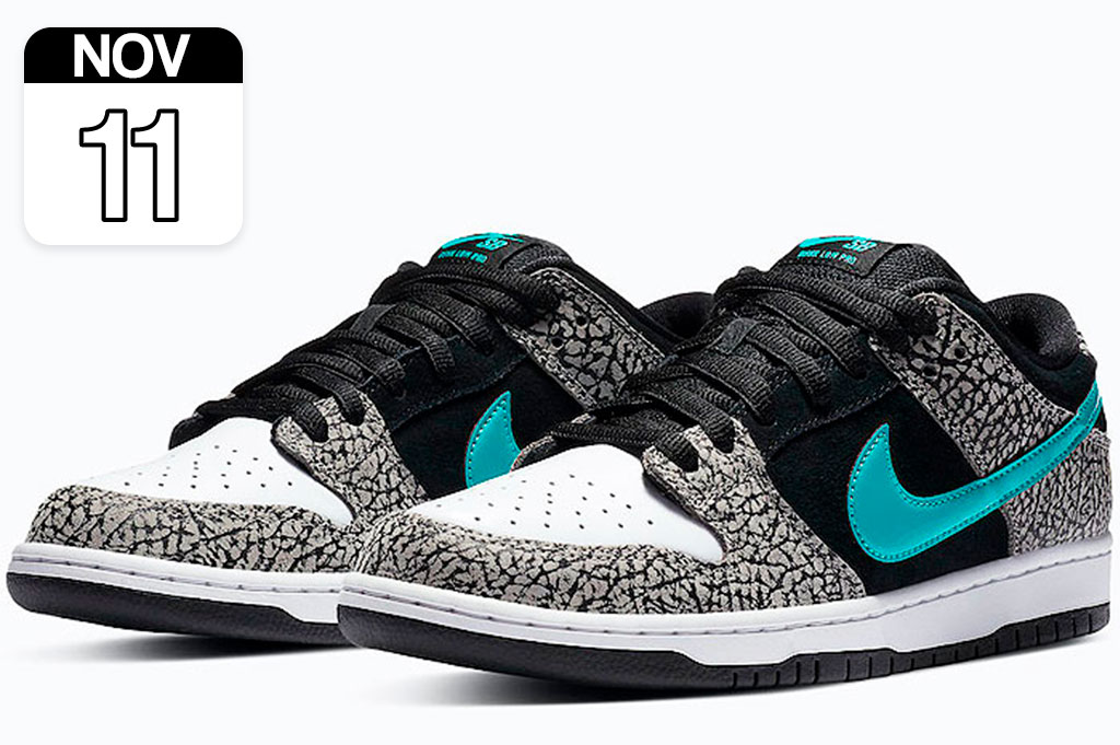 "Atmos x Nike SB Dunk Low ""Elephant"""
