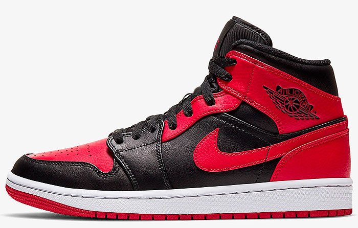 "Nike Air Jordan 1 Mid ""Banned"" 
