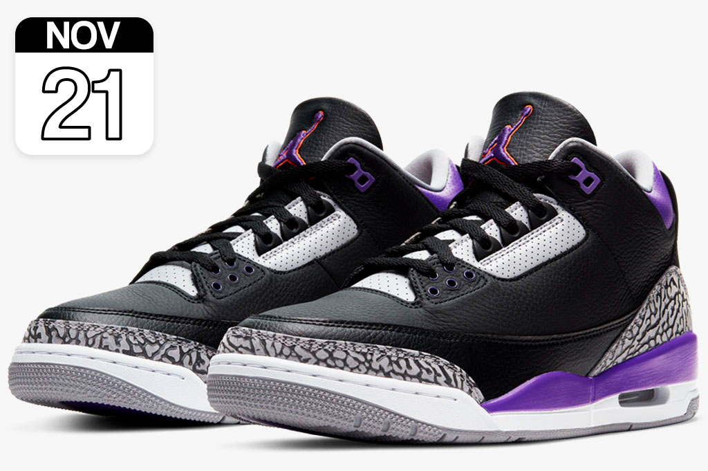 "Nike Air Jordan 3 ""Court Purple"""