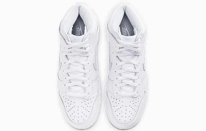 "Nike Dunk High ""Pure Platinum"" 