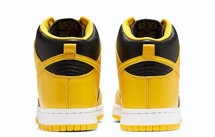"Nike Dunk High ""Black Varsity Maize""   CZ8149-002"