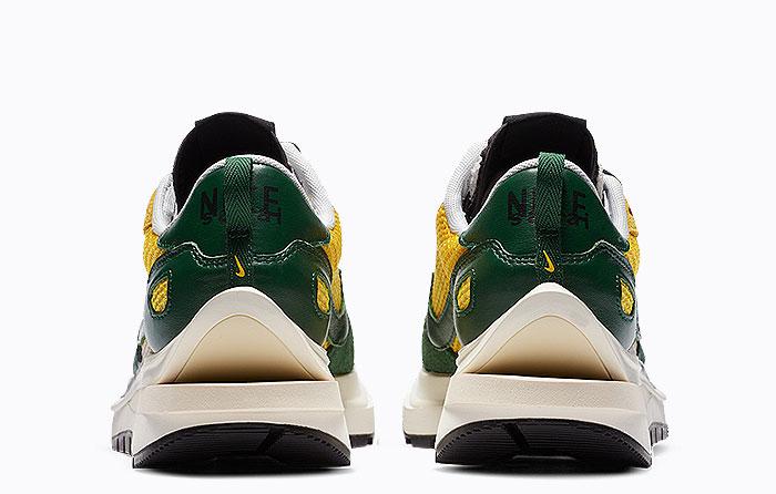 Sacai X Nike Vaporwaffle Tour Yellow Stadium Green | CV1363-700