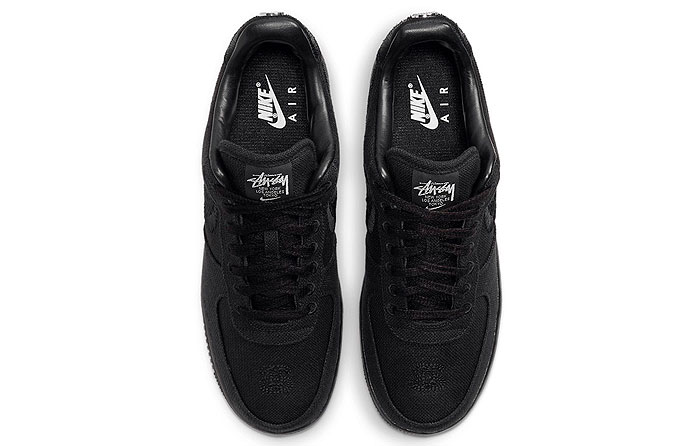 "Stussy x Nike Air Force 1 Low ""Negro"" 