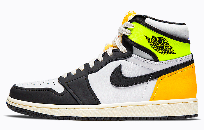 Nike Air Jordan 1 Retro High Volt Gold 555088-118