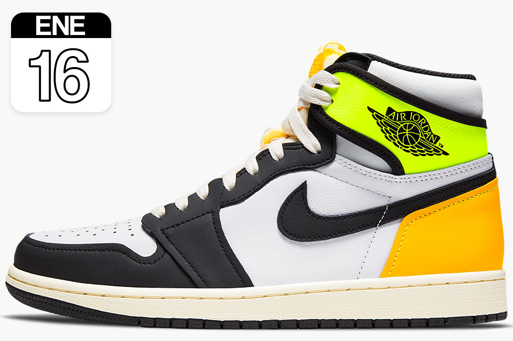 Nike Air Jordan 1 Retro High Volt Gold