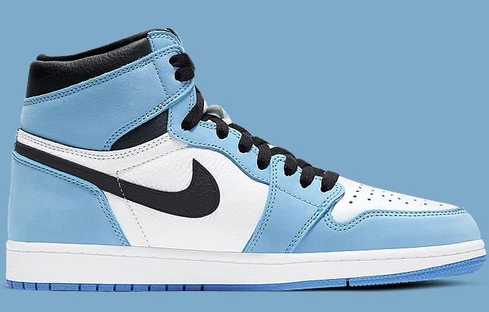 Nike Air Jordan 1 Retro High University Blue 555088-134