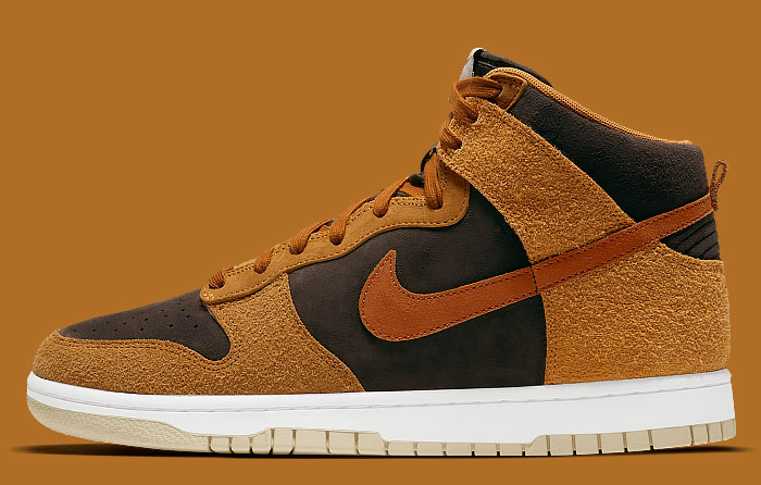 Nike Dunk High PRM Dark Russet DD1401-200