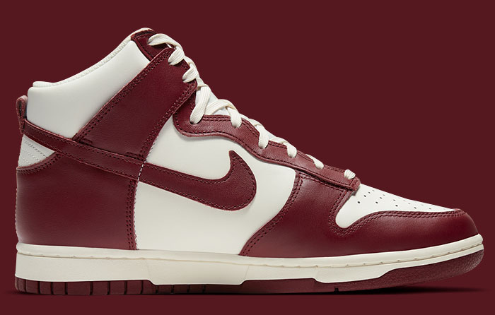 Nike Dunk High Sail Team Red DD1869-101