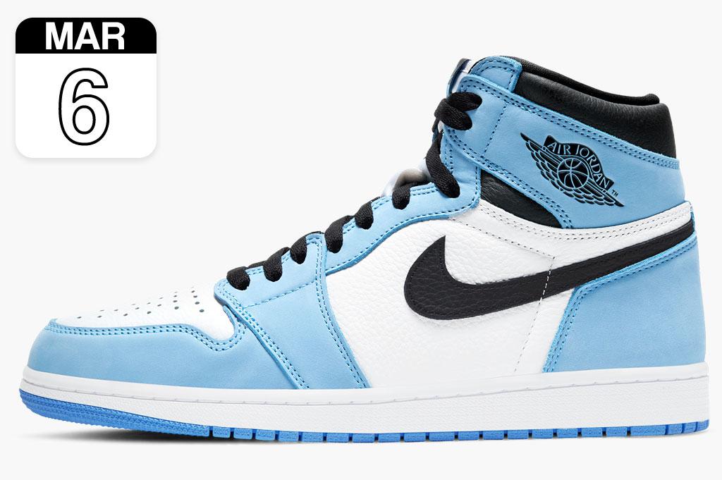 Nike Jordan 1 Retro High University Blue 555088-134