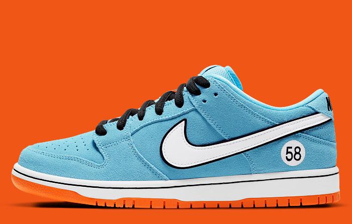Nike SB Dunk Low Gulf Club 58 BQ6817-401