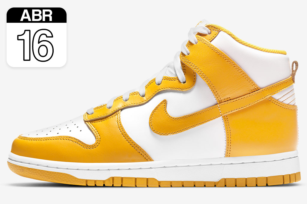 Nike Dunk High Dark Sulfur