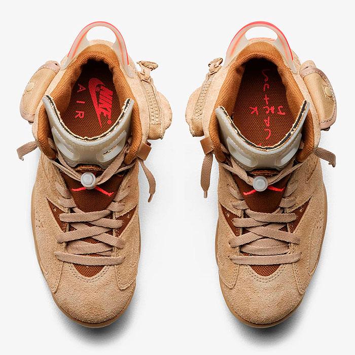 Travis Scott x Nike Air Jordan 6 Retro British Khaki DH0690-200