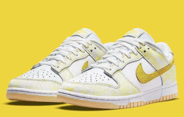 Nike Dunk Low (W) Yellow Strike dm9467-700