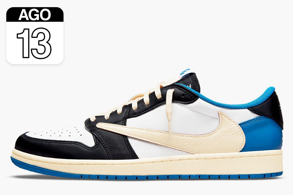 Travis Scott x Fragment x Nike Air Jordan 1 Low