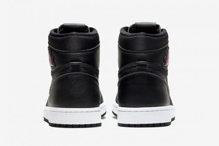 "Nike Air Jordan 1 High ""Satin Black"" | 555088-060"